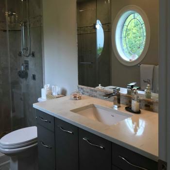 Bathroom Sink and Shower